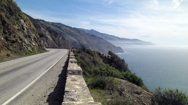 Highway 1, Big Sur -photo; Stan Russell