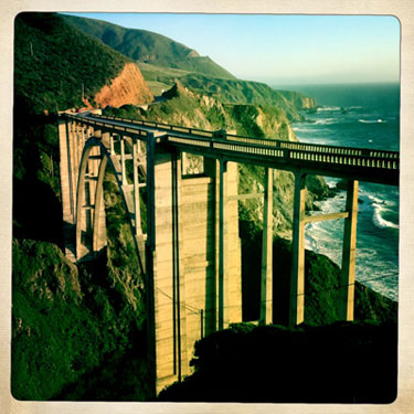 Bixby Bridge. Photo by Stan Russell
