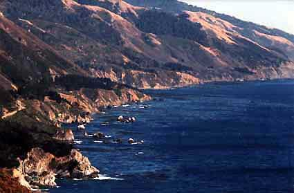 Big Sur Coast, photo by Stan Russell