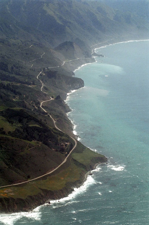 Highway One California Map.Big Sur National Scenic Byways Program